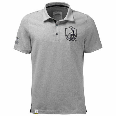 NEW OFFICIAL Campagnolo Classic Cycling Polo Shirt Grey LARGE • 54.99£