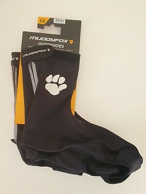 New Muddy Fox Over Shoes Black 5-8 Weather Resistant Stretch Fit Cyclists  • 15.99£