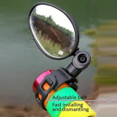 Bike Rear View Mirror Bicycle Road Safety Flexible Handlebar Back Vision UK • 4.69£