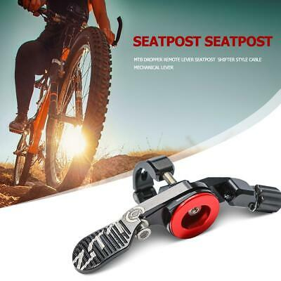 ZTTO MTB Bike Dropper Remote Lever Seatpost Shifter Style Cable Mechanical Lever • 22.86£