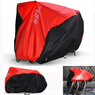 For 1/2/3 Bikes Waterproof Bicycle BMX Bike Cover Outdoor Garage Dust Protector • 12.89£