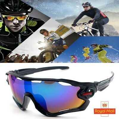 FOR Men Unbreakable Polarized Cycling Glasses Sports Glasses Sunglasses Goggles • 5.69£
