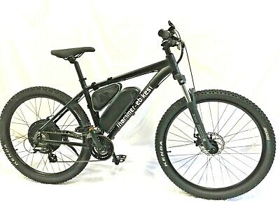 Fast Electric Bike Ebike, 30+mph, 1000W, 48V, Disk Brakes, XCM Fork, UK Support • 1,899£