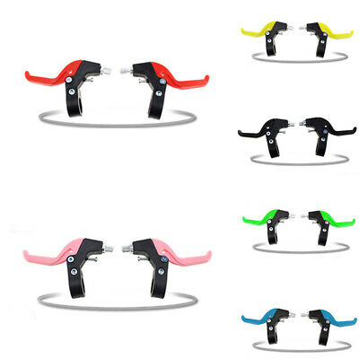 1 Pair Bike Bicycle Brake Levers For Kids Child Quick Install Replacement Supply • 6.19£