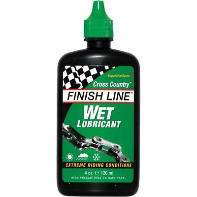 Finish Line WET Bike Lubricant Squeeze Bottle, 8 Oz. • 11.62£