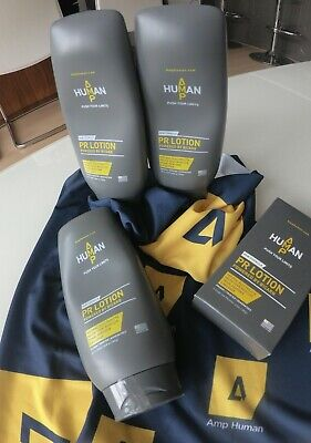 Brand New AMP Human PR Lotion 10.6oz/300g ** Offer Last 10 Remaining Lotions ** • 30£