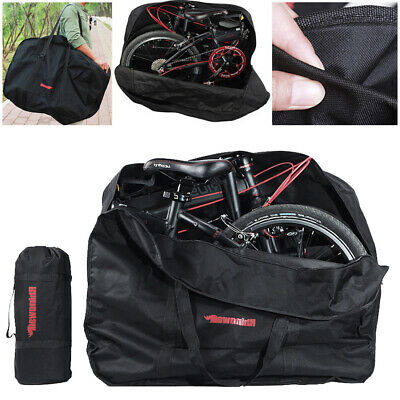 20Inch Folding Bike Bag Loading Vehicle Carrying Pouch Car Portable Bicycle Pack • 14.98£
