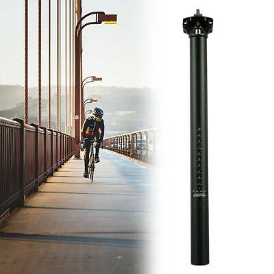 Seat Post Saddle Alloy Suspension Tube 30.9 400mm MTB Road Mountain Bike Bicycle • 12.49£