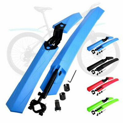 24 -29  Mountain Bike Mudguards MTB Bicycle Mud Guard Tire Fender Front Rear Set • 8.49£