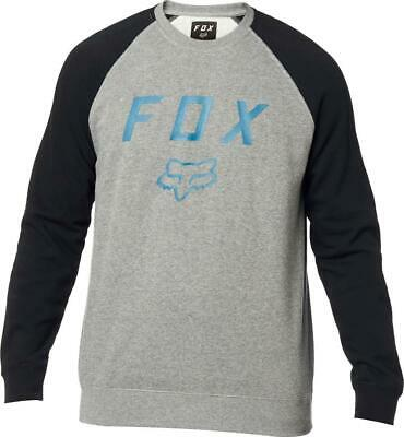 Fox Legacy Crew Pullover Black/Grey • 24.99£