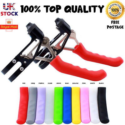 New Soft Lever Grip Brake Fixed MTB BMX Pair Of Protectors Covers Mountain Bike • 2.99£