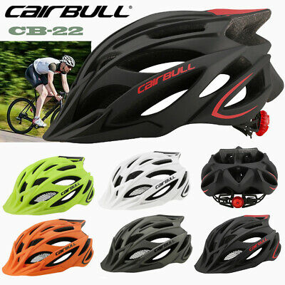 CAIRBULL Cycling Bicycle Adult Men Women MTB Road Bike Safety Helmet Tail Light • 25.99£