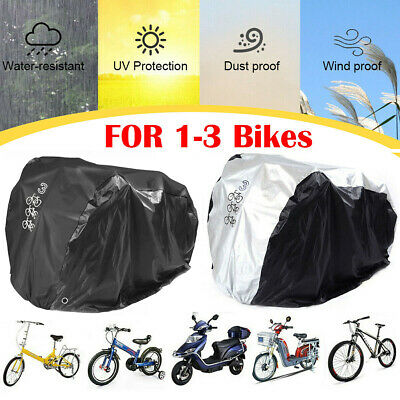 Mountain Bike Bicycle Cover Heavy Duty For Single/Double/Triple Cycle Protection • 13.89£