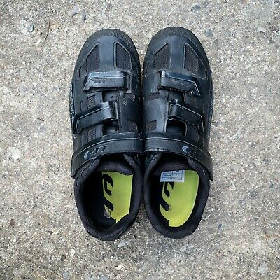 Louis Garneau Black Hrs-80 Mtb Cycling Shoes With Spd Cleats • 25£