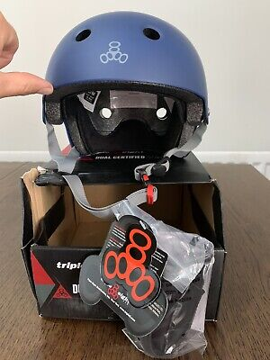 Triple Eight Helmet Dual Certified Multi Sport Helmet S/m New With Tags • 15£