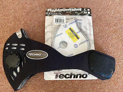 Blue Techno Cycling Mask (also Ideal For Complying With Mask Rules ;)  • 0.99£
