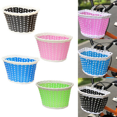 Girls Bicycle Front Basket Flower/shopping Childs/childrens/kids Bike/cycle • 4.18£