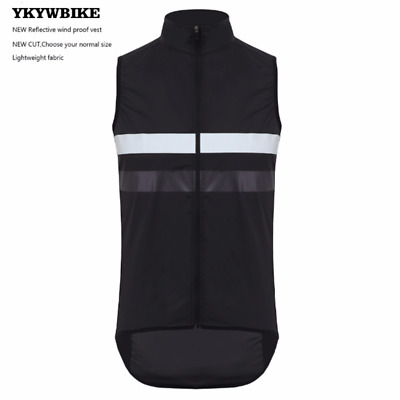 Men Windproof Waterproof Cycling Gilet/Soft Light-weight Reflective Cycling Vest • 20.89£