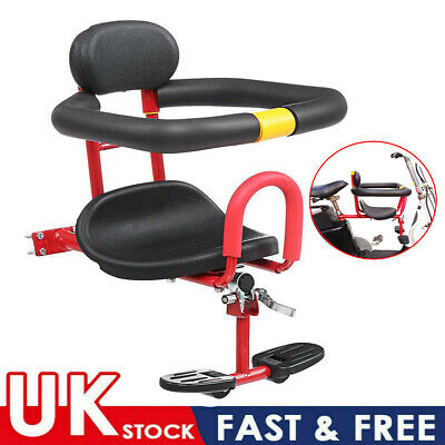 Kids Bicycle Chair Bike Safety Toddler Child Seat Front Safe Stable Carrier Baby • 18.75£
