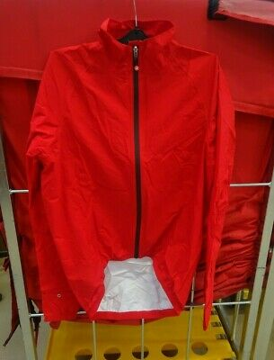 Castelli Emergency Rain Jacket Size - XL RED < • 49£