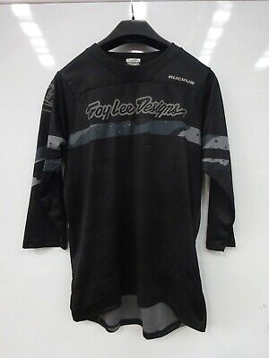 Troy Lee Designs Ruckus 3/4 Factory Jersey MEDIUM CAMO/GREY/BLACK# • 9£
