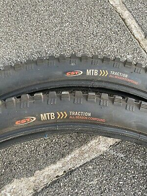 Mtb Tyres 26 Pair With Tubes • 6£