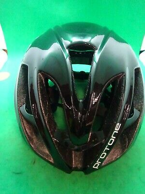 Kask Protone Road Black Helmet Size Medium~ • 69£