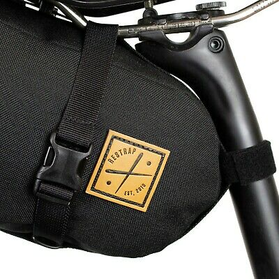 Restrap Saddle Pack 4 LITRES BLACK ( • 16£