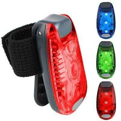 5 LED Light Clip On For Running Bike Rear Lamp Cycling Jogging Safety Warning UK • 6.99£