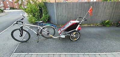 Chariot Cougar 1 (pre Thule) - Child's Bicycle Trailer With Jogging Kit • 250£