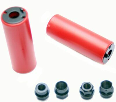 Coyote Nylon Stunt Pegs 10/14mm Fitting Red • 8.99£