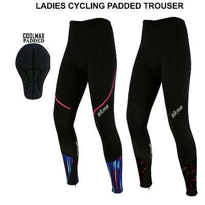 Women Cycling Tights Winter Thermal Padded Trousers  Ladies Legging Biking Sikma • 17.99£