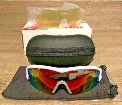 Lazer Solid State 1 SS1 Glasses Team Lotto White Edition 3 Lenses • 35£