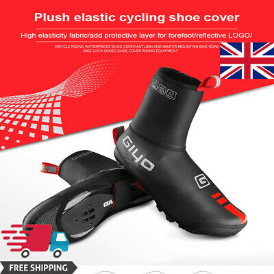 Bicycle Mountain Bike Shoe Cover Waterproof Windproof Shoes Thermal Overshoes • 18.02£
