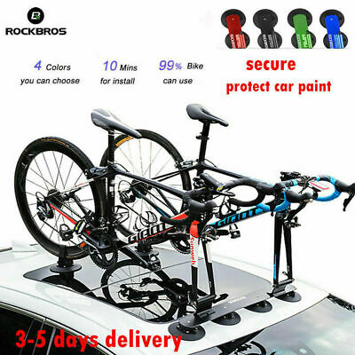 UK RockBros Bicycle Car Roof Rack Carrier Suction Roof-top Quick Release Rack • 91.98£