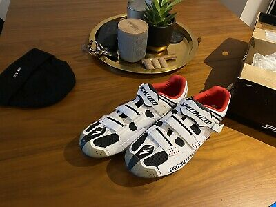 Specialized 2015 Pro MTB Shoes (White/Red) • 38£