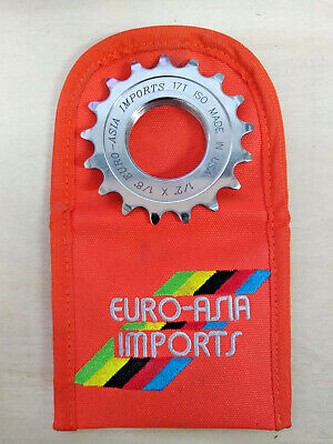 EAI Superstar Track Cog 17t, 1/8 . Europse Asia Imports Fixed Gear Cog Rear • 23£