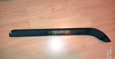 Vintage Triumph Bicycle Hockey Stick Chainguard  Green • 25£
