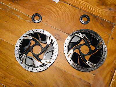 Pair Of Shimano Dura Ace Ice Tech Disc Rotors SM RT-900 160mm Centre Lock • 79£