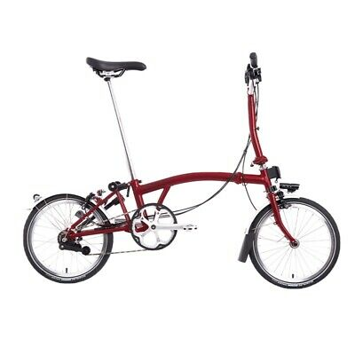Brand New Brompton M6L House Red 2021 Folding Bicycle SHIPPING 🌎 • 23£