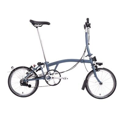 Brompton M6L Cloud Blue - LIMITED STOCK - 🌎 Shipping!! TRUSTED 🌎 SELLER • 205£