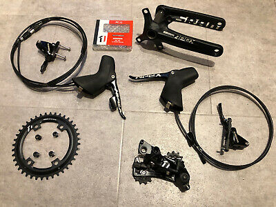 SRAM Apex 1 1x11 Groupset 1x11 GXP Hydraulic Disc Brake - Apex1 PM Gravel - New • 449£