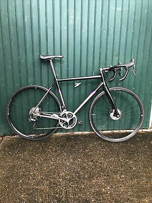 Boardman Titanium SLR Disc Road Medium DI2 Road Race Bike • 2,000£