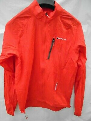 Montane Featherlite Trail Jacket SMALL FLAG RED  ~ • 22.69£
