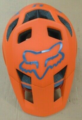 Fox Racing Dropframe Pro MTB Helmet SMALL MFG:10/06/20 (52-54) ORANGE ¬ • 56.55£