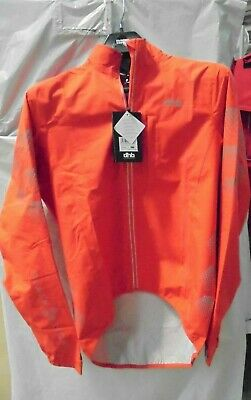 Dhb Flashlight Waterproof Jacket MEDIUM  GRENADINE - • 21£