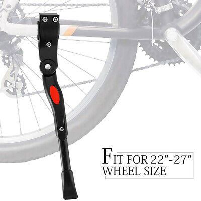 Bike Kick Stand Cycle Adjustable Rubber Foot Heavy Duty Prop Bicycle Mountain • 4.99£