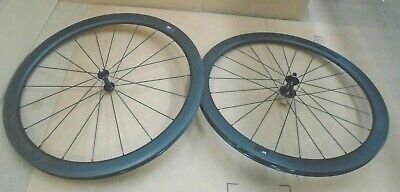 Token Resolute C45 Carbon Clincher Road Wheelset 700C SHIMANO  ~ • 207£