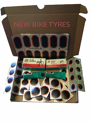 Rema Tip Top Tt02 Tt04 Puncture Repair Kit Inner Tube Tyre Patches Glue Bicycle • 12.99£