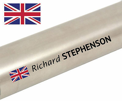 Personalised Named Flag Cycle Frame Cycling Helmet Bike  Tour Sticker Decal • 4.05£